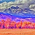 Longs Peak by Charles Muhle