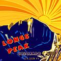 Longs Peak by David G Paul