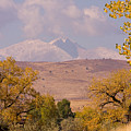 Longs Peak Diamond Autumn Shadow by James BO  Insogna