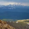 Longs Peak From Mount Evans Colorado by Crystal Garner