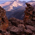 Longs Peak From Rock Cut  by Tranquil Light  Photography