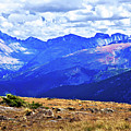 Longs Peak Rocky Mountain National Park by Thomas Anderson