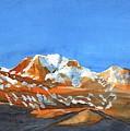 Longs Peak by Ugljesa Janjic