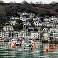 Looe Harbour - Cornwall by Susie Peek