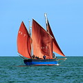 Looe Lugger 'our Daddy' by Tom Wade-West