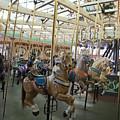 Looff Carousel Santa Cruz Boardwalk by Jason O Watson