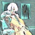 Look The Musician Plays by Yury Bashkin