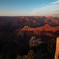 Looking At The North Rim Of The Canyon. by Jeff Folger