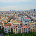 Looking Down On Barcelona From The Sagrada Familia by Toby McGuire