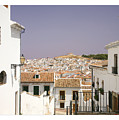 Looking Down Over Antequera  From Near The Church Of Santa Maria La Mayor  by Mal Bray