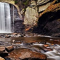 Looking Glass Falls by Dennis Nelson