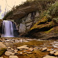 Looking Glass Falls Pisgah National Forest 2 by Lisa Wooten