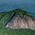 Looking Glass Rock Mountain In North Carolina by Alex Grichenko