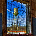 Looking Inside Out Mary Leila Cotton Mill Water Tower Art by Reid Callaway
