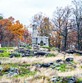 Looking Towards The Top Of Little Round Top by William Rogers
