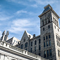 Looking Up At Old City Hall by Ray Sheley