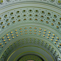Looking Up In Union Station -- A Westward View by Cora Wandel