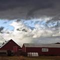 Looming Storm In Sumas Washington by Clayton Bruster