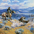 Loops And Swift Horses Are Surer Than Lead by Charles Russell