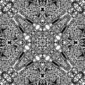 Loops Black And White No. 1 by Joy McKenzie