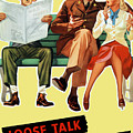 Loose Talk Can Cost Lives - World War Two by War Is Hell Store