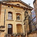 Lord Clarendon's Statue, Clarendon Building, Oxford by Terri Waters