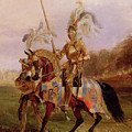 Lord Of The Tournament by Edward Henry Corbould