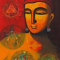 Lord Vishnu by Pratiksha Somnath Bothe