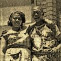 Lorenzo  Madgie And Angela by Angela L Walker