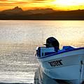 Loreto Panga At Sunset by Scott Massey