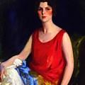 Loretta Hines Howard by Henri Robert