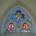 Loretto Chapel Stained Glass by Robert Meyers-Lussier