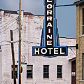 Lorraine Hotel Sign by Jerry Fornarotto