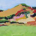 Los Alamos Valley by Deborah Hildinger