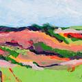 Los Alamos Valley II by Deborah Hildinger