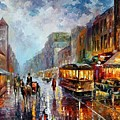 Los Angeles 1925 by Leonid Afremov