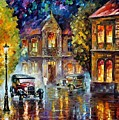 Los Angeles 1930 by Leonid Afremov