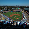 Los Angeles Dodgers Dodgers Stadium Baseball 2043 by David Haskett II