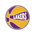 Los Angeles Lakers Retro Shirt by Joe Hamilton