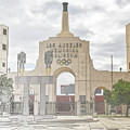 Los Angeles Memorial Coliseum  by Anthony Murphy
