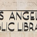 Los Angeles Public Library 0588 by Edward Ruth