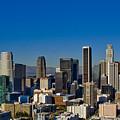 Los Angeles Skyline by Chris Brannen