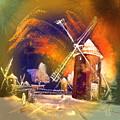 Los Molinos Del Quijote 01 by Miki De Goodaboom