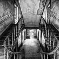 Lost Glory Staircase - Abandoned Castle by Dirk Ercken