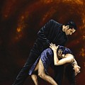 Lost In Tango by Richard Young