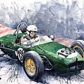 Lotus 18 F2 by Yuriy  Shevchuk
