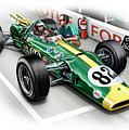 Lotus 38 Indy 500 Winner 1965 by David Kyte