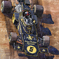 Lotus 72 Canadian Gp 1972 Emerson Fittipaldi  by Yuriy Shevchuk