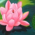 Lotus Bloom by Pragya  Suman