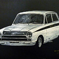 Lotus Cortina by Richard Le Page
